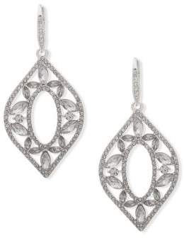 Jenny Packham Pave Crystal Chandelier Earrings