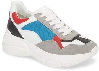 Steve Madden Memory Platform Wedge Sneaker