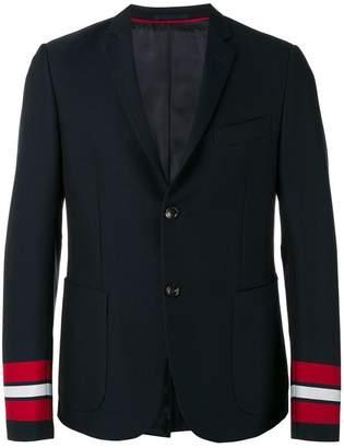 Gucci striped cuffs blazer