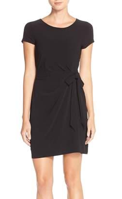 Leota Side Tie Jersey Sheath Dress