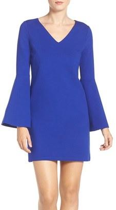 Women's Cece 'Lizzie' Bell Sleeve Shift Dress $128 thestylecure.com