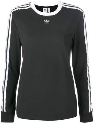 adidas 3-Stripes fitted sweatshirt