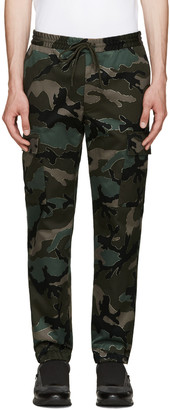 Valentino Green Camo Trousers $1,095 thestylecure.com