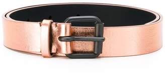 Haider Ackermann metallic belt