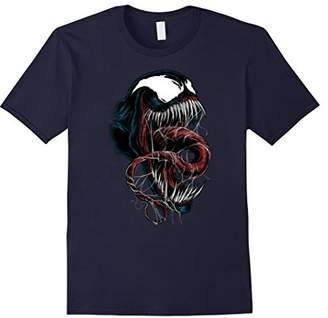Marvel Spider-Man Venom Close-Up Graphic T-Shirt