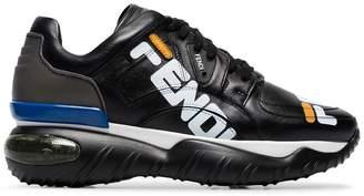 Fendi multicoloured fila mania new age leather sneakers