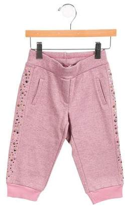 MonnaLisa Girls' Embellished Sweatpants w/ Tags