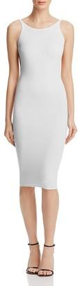 Olivaceous Low Back Knit Dress - 100% Exclusive $78 thestylecure.com