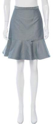 Opening Ceremony Knee-Length flounce Skirt