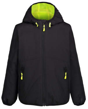 Shower Resistant Fleece Lined Hooded Jacket