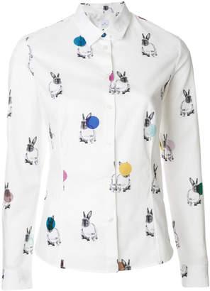 Paul Smith printed Bunny shirt