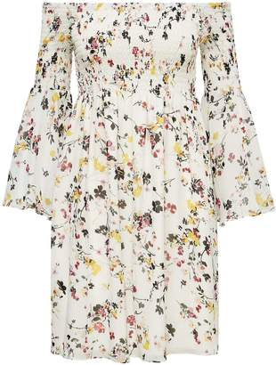 Sam Edelman Bell Sleeve Off the Shoulder Dress