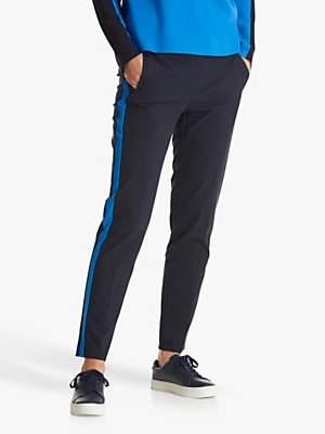 Betty Barclay Stripe Tailored Trousers, Dark Sapphire