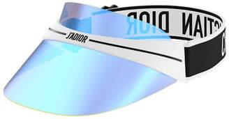 Christian Dior DiorClub1 Mirrored Logo Sun Visor
