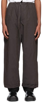 Y/Project Brown Tailored Pyjama Pants