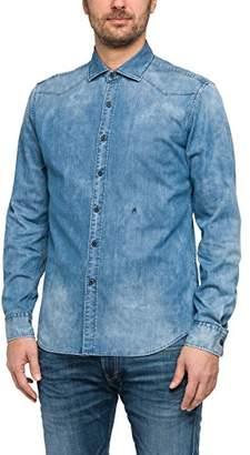 Replay Men's M4908a.000.15a 106 Jeans Shirt, (Blue Denim 9)