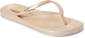Capelli New York Glitter Flip Flops