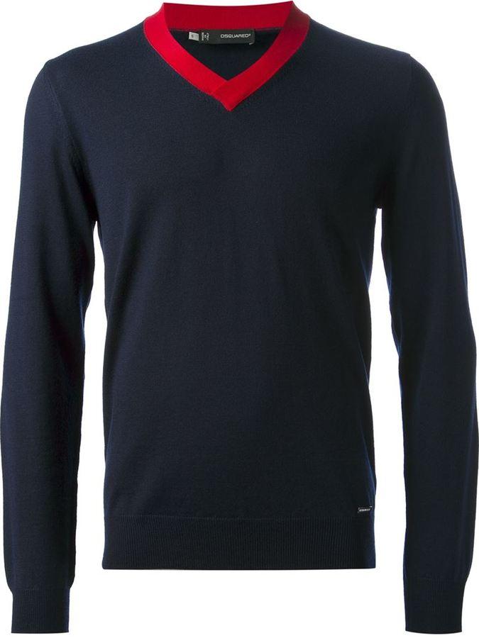 DSquared DSQUARED2 v-neck sweater