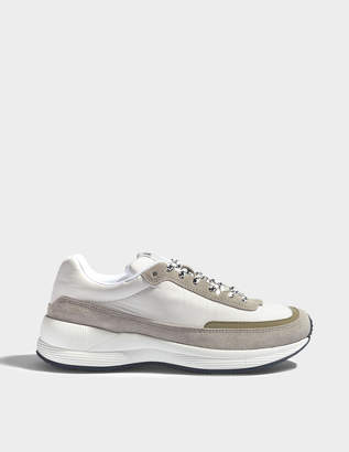 A.P.C. Women Running Shoes in White Polyester Nylon