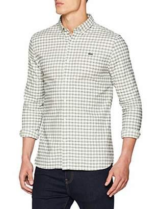 Lacoste L!VE Men's CH9111 Dress ShirtSize: