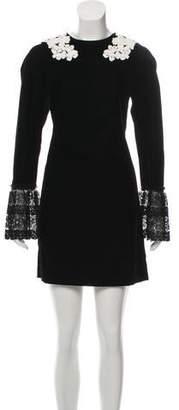 Giamba Velvet Mini Dress w/ Tags