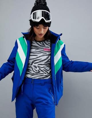 Asos 4505 SNOWBOARD Jacket With Color Block Detail