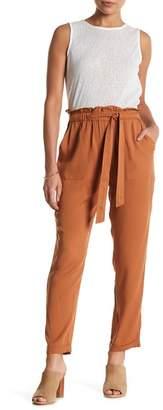 Know One Cares Paper Bag Waist Pant $44 thestylecure.com
