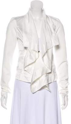 Plein Sud Jeans Linen Blend Lightweight Jacket w/ Tags