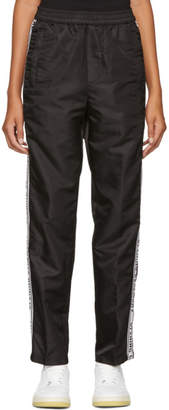 Opening Ceremony Black Nylon Warm Lounge Pants