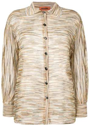 Missoni woven knitted cardigan