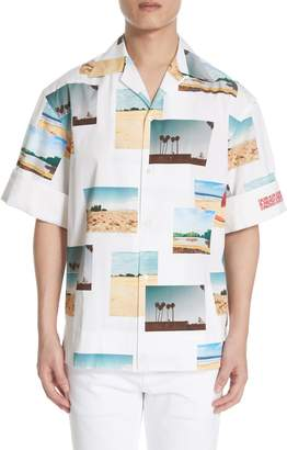 Calvin Klein Print Sport Shirt