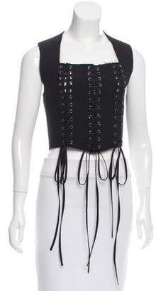 Tome Wool Crop Top w/ Tags