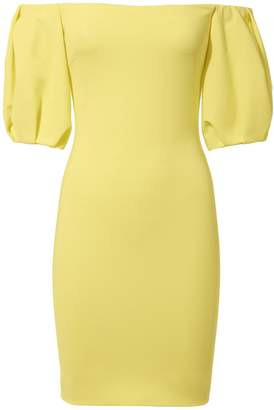 Cushnie et Ochs Silvia Off Shoulder Mini Dress