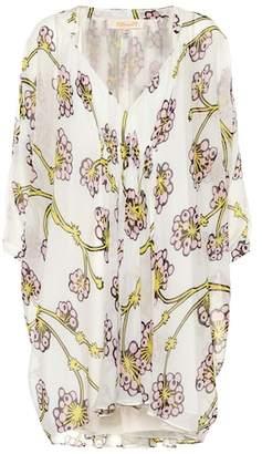 Diane von Furstenberg Printed silk minidress