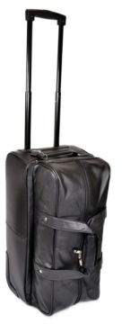 ROYCE New York Rolling Trolley Duffle Bag