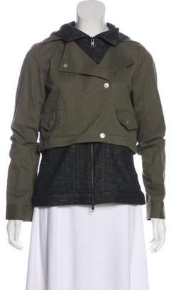 Thakoon Hooded Zip-Up Jacket w/ Tags