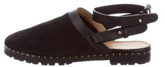 Alexa Wagner Round-Toe Ankle-Strap Flats w/ Tags