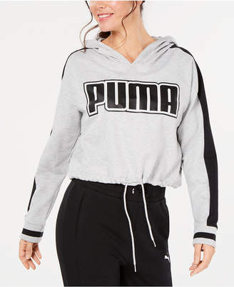 Puma Rebel Reload Relaxed Cropped Hoodie