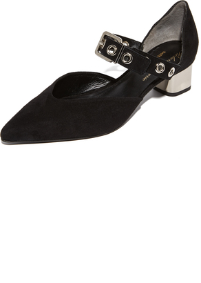 Robert Clergerie Point Toe Pumps $495 thestylecure.com