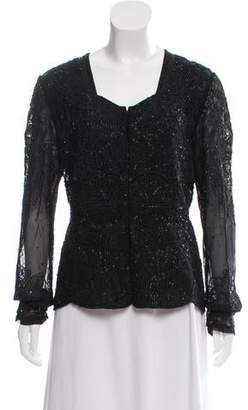 Lafayette 148 Embellished Evening Jacket w/ Tags