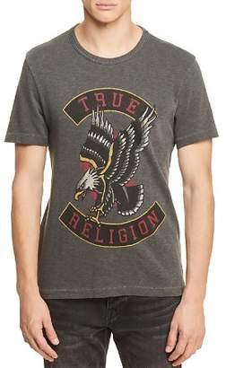 True Religion Eagle Crewneck Graphic Tee