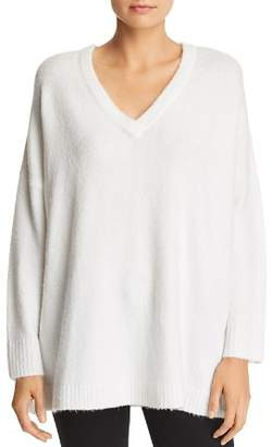 French Connection Deep-V Tunic Sweater