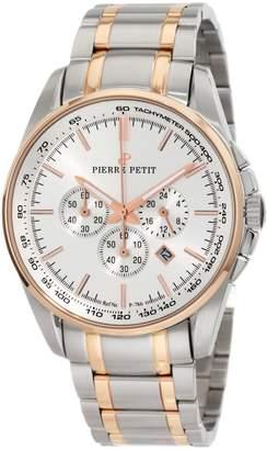 Pierre Petit Men's P-786E Serie Le Mans Two-Tone Stainless-Steel Bracelet Chrono Watch