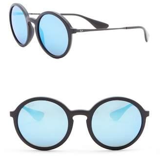 Ray-Ban Phantos 50mm Round Sunglasses