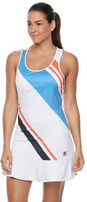 Women's FILA SPORT® Striped Racerback Tennis Dress $55 thestylecure.com