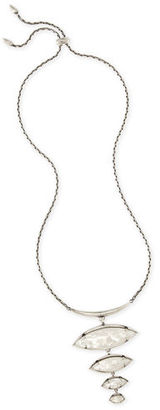 Kendra Scott Morris Stacked Pendant Necklace $150 thestylecure.com