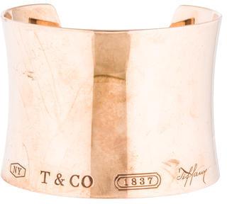 Tiffany & Co. Rubedo Extra Wide 1837 Cuff Bracelet $2,895 thestylecure.com