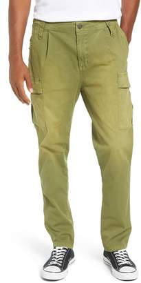 Scotch & Soda Loose Taper Fit Washed Cargo Pants