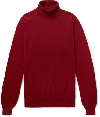 Lardini Slim-Fit Cashmere Rollneck Sweater
