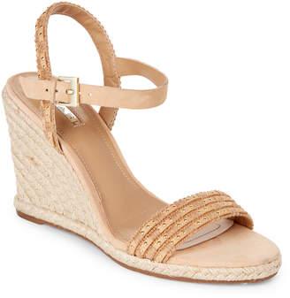 Tahari Natural Walsh Wedge Espadrille Sandals